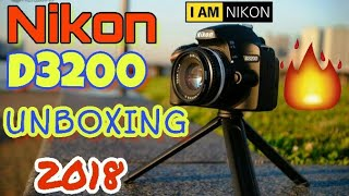 🔥Nikon D3200 Dslr  Unboxing and Full Review In Hindi 2018🔥