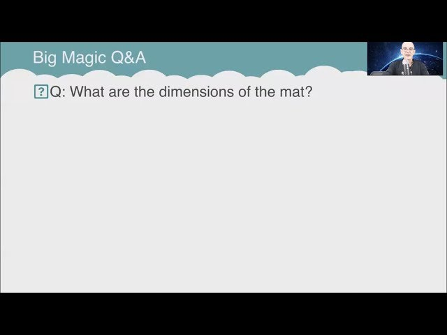 Q&A: What are the dimensions of the mat?