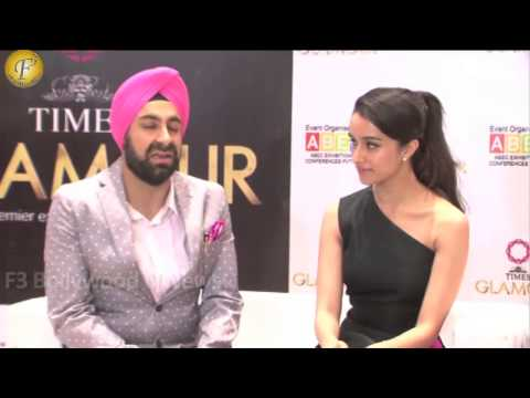 UNVEILING OF 14TH EDITION OF GLAMOUR 2015 INDIA'S LARGEST JEWELERY EXPO BY SHRADDHA KAPOOR