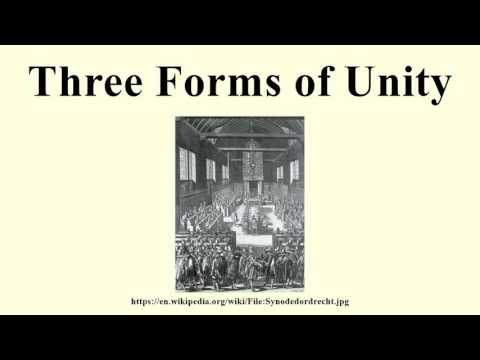 Three Forms of Unity