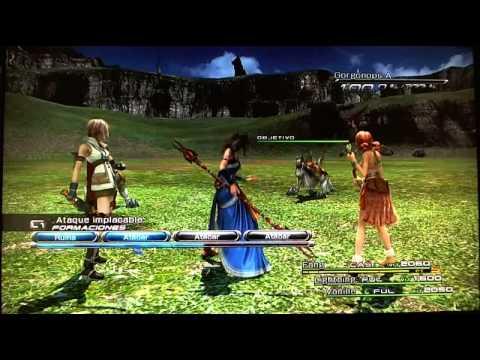Final Fantasy XIII parte 67 como mejorar armas facil