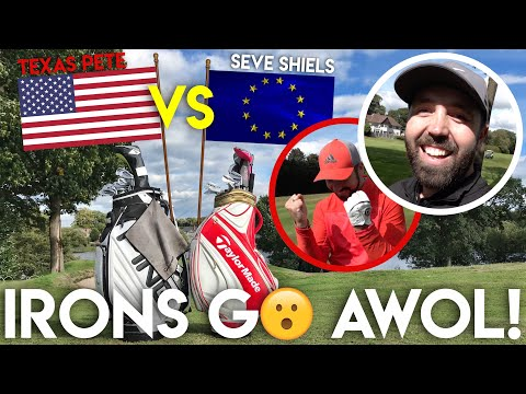 IRONS GO AWOL! Texas Pete vs Seve Shiels - 2nd Hand Club Challenge - Part Three