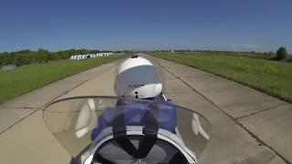 Сенаторлар автожирда ұшу МТҚ-Спорт. Gyroplane Flying