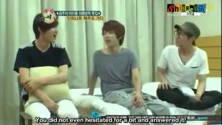 [ENG SUB] 120815 Weekly Idol Infinite part 1 (Jeju Island)