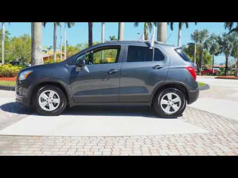 Certified 2016 Chevrolet Trax Sunrise Fl Miami Fl Gw3121 Sold