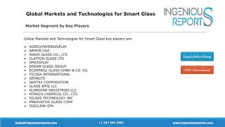 Strategies for Smart Glass Market Forecast, share, Size and Industry outlook