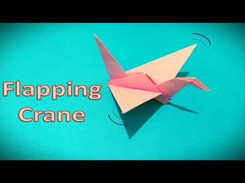 Origami: flapping bird - YouTube | 360x480