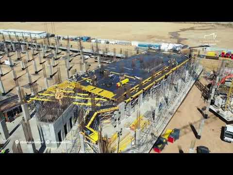 انتهاء 95% من أعمال القواعد الأساسية في الجوهرة مول | فبراير 2020
