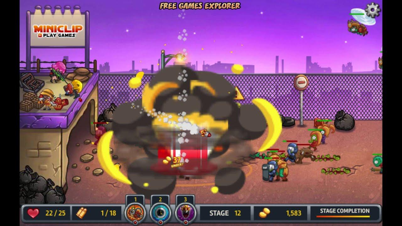 Zombo Buster Rising – Game Walkthrough (all 1-16 lvl + Boss Fight)