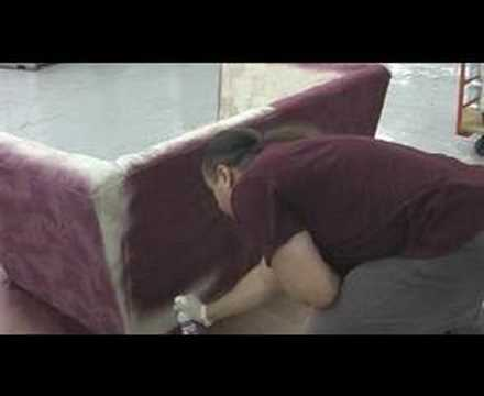 sofa colour change using upholstery spray paint youtube. Black Bedroom Furniture Sets. Home Design Ideas