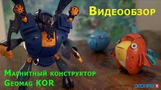 Магнитный конструктор для детей Geomag Kor. Видео обзор