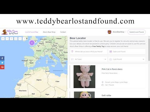 Lost and Found Map BBC Radio Solent Interview 12 - 6 - 2017