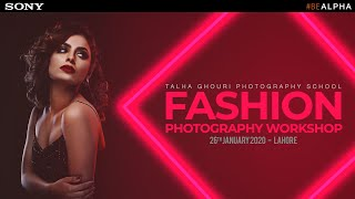 Fashion Photography Workshop in LAHORE