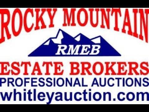 Wellington Colorado Estate Auction  Before Video