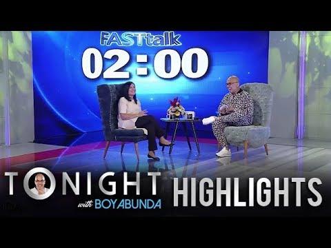 TWBA: Fast Talk with Lorna Tolentino