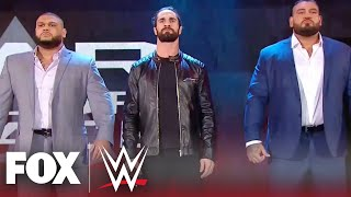 Seth Rollins reveals himself as leader of AOP after ambushing Kevin Owens | MONDAY NIGHT RAW