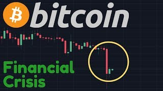 BITCOIN DUMPING!!   FED Cut Rates As We Are Now Entering Into A Financial Crisis!!