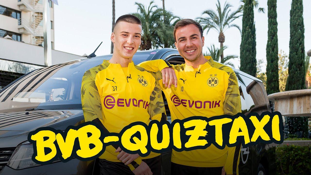 BVB-Quiztaxi in Marbella 2020 - Das Finale! | Können Schmelzer & Piszczek ihren Titel verteidigen?