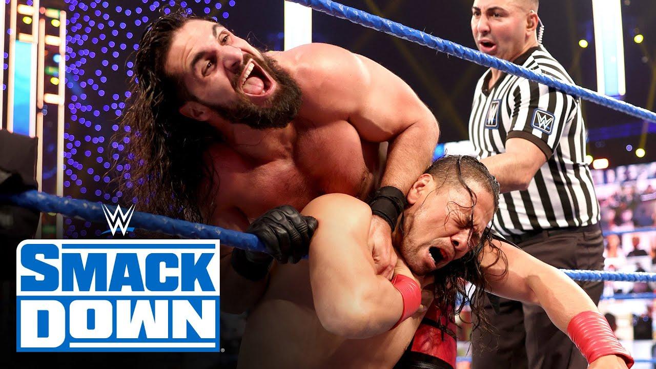 Shinsuke Nakamura vs. Seth Rollins: SmackDown, March 26, 2021