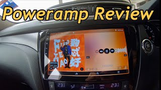 poweramp App Review - Integrated Music Player Of Agama Car Launcher