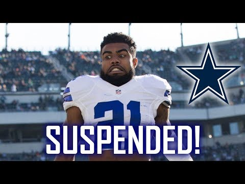 Ezekiel Elliott SUSPENDED for 6 Games! Will the Cowboys still make the playoffs??