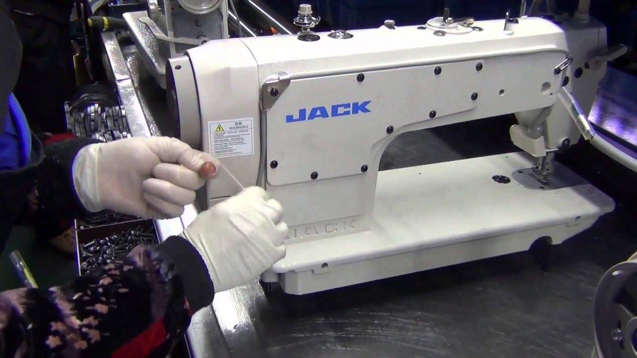 วิธีเปลี่ยนแผงมอเตอร์จักรไดเร็ค จักรเย็บ จักรพ้ง จักรลา ยี่ห้อ Jack