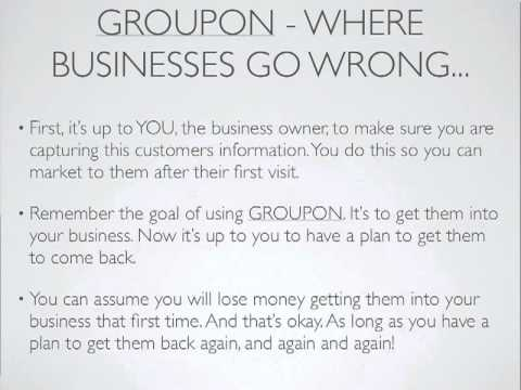 Groupon - Business Savior or Marketing Killer.