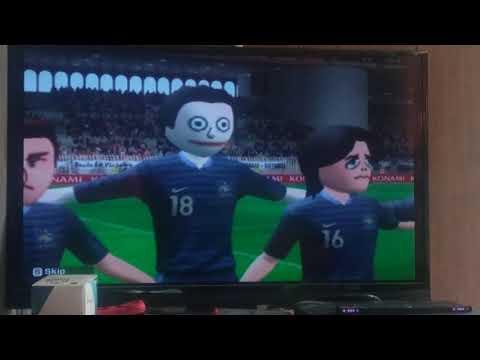 Pro Evolution Soccer ((Football)) 2013 Part 3: Exhibition: France vs N. Korea
