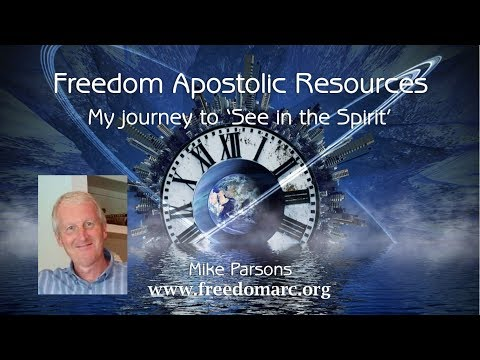 "My journey to ""See in the spirit"""