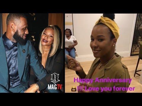 Lebron James Suprises Wife Savannah For Their 5th Anniversary!