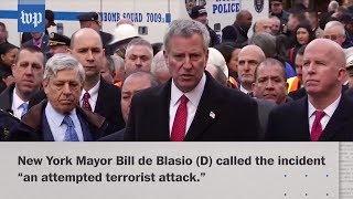 New York explosion considered attempted terrorist attack