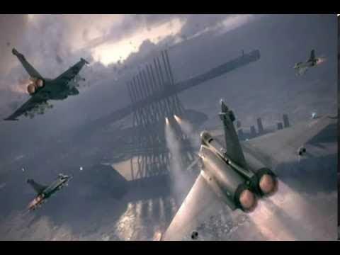 Chandelier - (with lyrics) - 58/62 - Ace Combat 6 Original ...