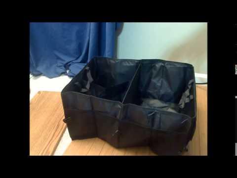 Marrywindix Multipurpose Fabric Foldable Car Cargo Storage Box