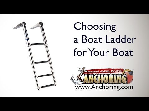 Choosing A Boat Ladder For Your Boat