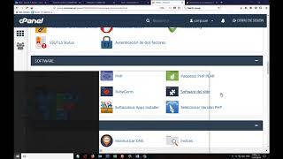 Solucion CPANEL extension  Fileinfo no activa Prestashop V 1.7.2.4