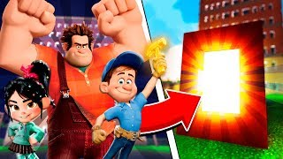 Minecraft - How to Make a Portal to WRECK IT RALPH 2! - RALPH BREAKS THE INTERNET