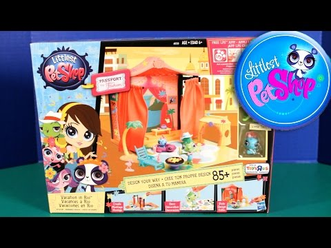 NEW LPS Vacation in Rio Passport to Fashion Littlest Pet Shop Toy Unboxing