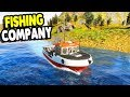 FIRST LOOK Fishing Company Tycoon Simulator, Ship Upgrades! | Fishing Barents Sea Gameplay