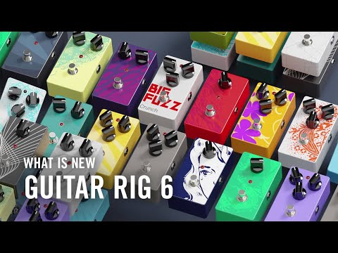 See what's new in GUITAR RIG 6 PRO | Native Instruments