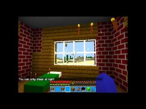 minecraft:come fare una stanza da letto - YouTube