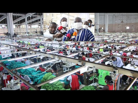 Ghana PPE Mass Production. Africa Doing It Own