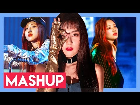 RED VELVET x BLACKPINK - PEEK-A-BOO x WHISTLE (MASHUP)