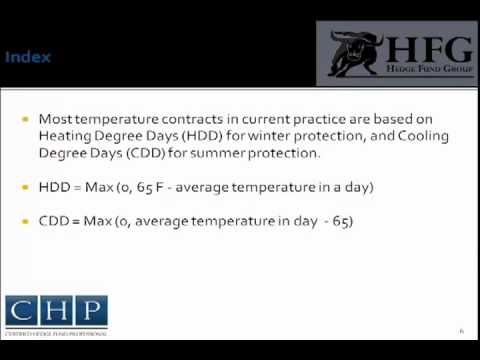 Weather Risk | Certified Hedge Fund Professional (CHP)