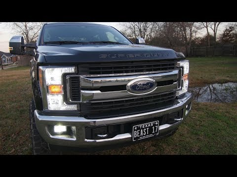 Must Have LED Lights for Your 2017-2019 F250 Super Duty!!!