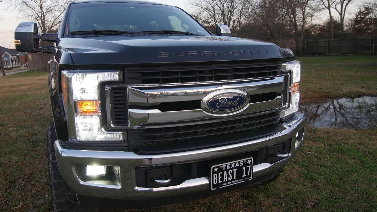 Must Have Led Lights For Your 2017 2019 F250 Super Duty