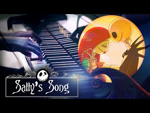"""""""Sally's Song"""" - Tim Burton's The Nightmare Before Christmas (HD Piano Cover, Movie Soundtrack)"""