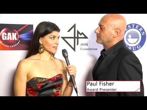 Red Carpet Interview With Modelling Agent Paul Fisher 2019 Arpa IFF