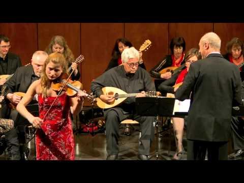 Maristella Patuzzi Zigeunerweisen Pablo de Sarasate con Orchestra Mandolinistica di Lugano