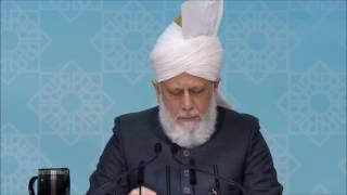 Le Calife s'addresse aux responsables (dames) - Londres 2016
