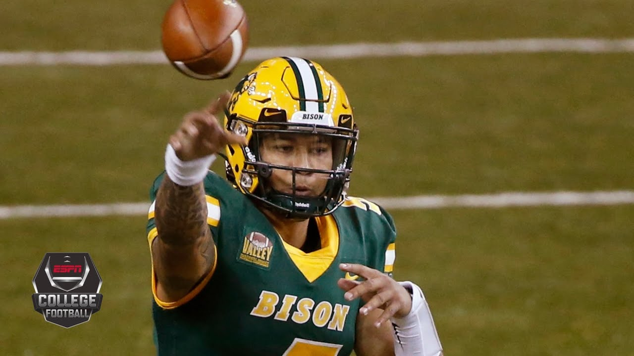 Trey Lance accounts for 4 TDs for North Dakota State | 2020 College Football Highlights